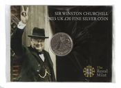 £20 2015 Churchill Brilliant Uncirculated Pack